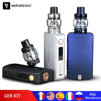 Original Vaporesso Gen Vape Kit 220W Electronic Cigarette with SKRR S Tank Atomizer QF Meshed or GT Coil Core Polar kit upgrade - DISCOUNT ITEM  30% OFF All Category