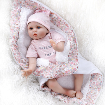 Cute Bebe Doll Reborn Toddler 55cm Soft Silicone Reborn Baby Dolls Soft Body Lifelike Christmas Girl Gifts Doll Toy For Children cute bebe doll reborn toddler 55cm soft silicone reborn baby dolls soft body lifelike christmas girl gifts doll toy for children