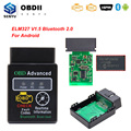 Сканер ELM327 V1.5 PIC18F25K80 OBD2 Bluetooth для Android ELM 327 V1.5 HH OBDII OBD 2 Автомобильный диагностический инструмент считыватель кодов 1,5