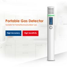 Портативный высокая точность детектор горючих газов сенсор тестер профессиональный детектор утечки природного газа с ЖК-дисплеем