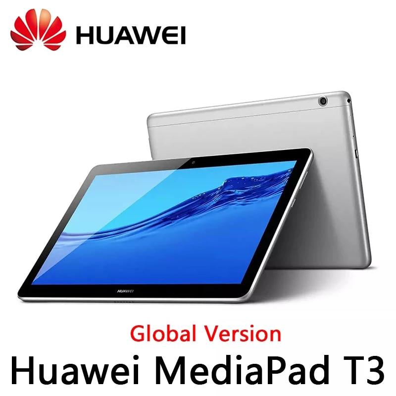 Versión Global Huawei MediaPad T3 10 2GB Ram 32GB Rom AGS-W09/AGS-L09 Tablet PC SnapDragon Octa-Core 9,6 pulgadas Android 7 1280*800