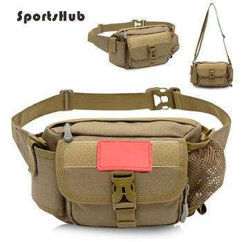 цена на Outdoor Fishing Bag Multifunctional Waist Bag Portable Lure Waist Pack Messenger Bag Pole Package Fishing Gear Bag FT0091