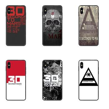 Black Cover Case Modern 30 Second To Mars 30stm For Galaxy Note 4 8 9 10 20 Plus Pro J6 J600 J7 J730 J8 J810 M30s M80s 2017 2018 image