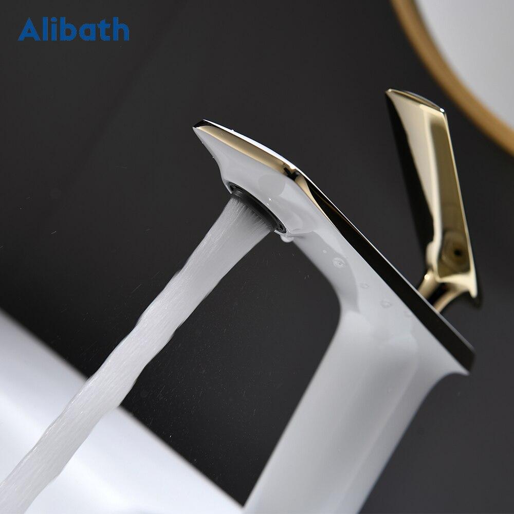 Купить смесители для раковины с одной ручкой ванной комнаты смеситель