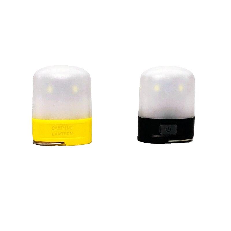 Mingray haute qualité LED rechargeable par usb lampe de poche lanterne IP65 batterie au lithium ultra lumineux mini lampe de tente camping en plein air