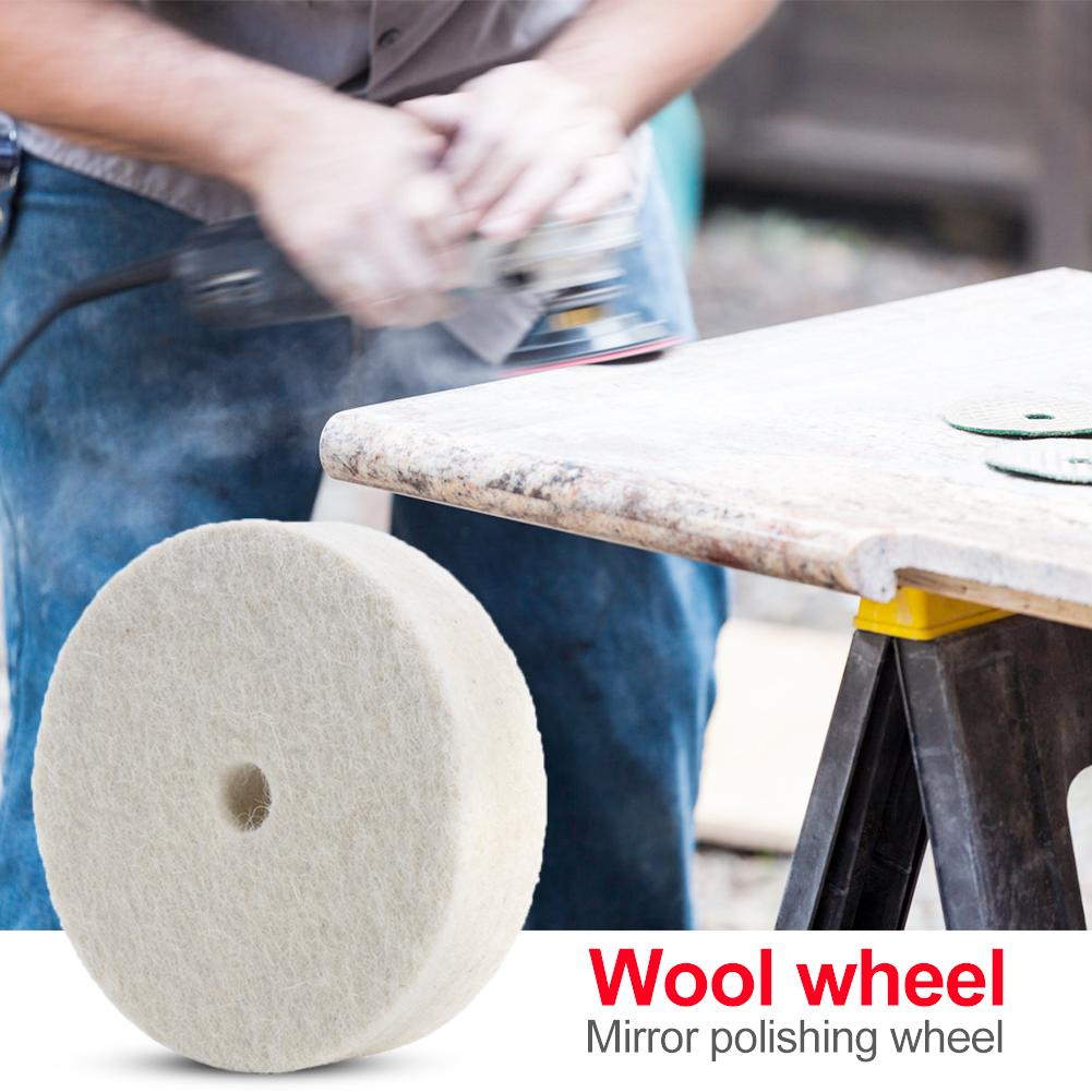 Cloth Polishing Mop Buffing Wheel Wood Grinder Abrasive Tool For Metal Jewelry Widely Used In Copper And Other Metals