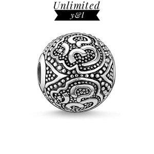 Подвеска-ом из бусин, браслет, ожерелье из стерлингового серебра 925 пробы, бижутерия для поделок, 2019