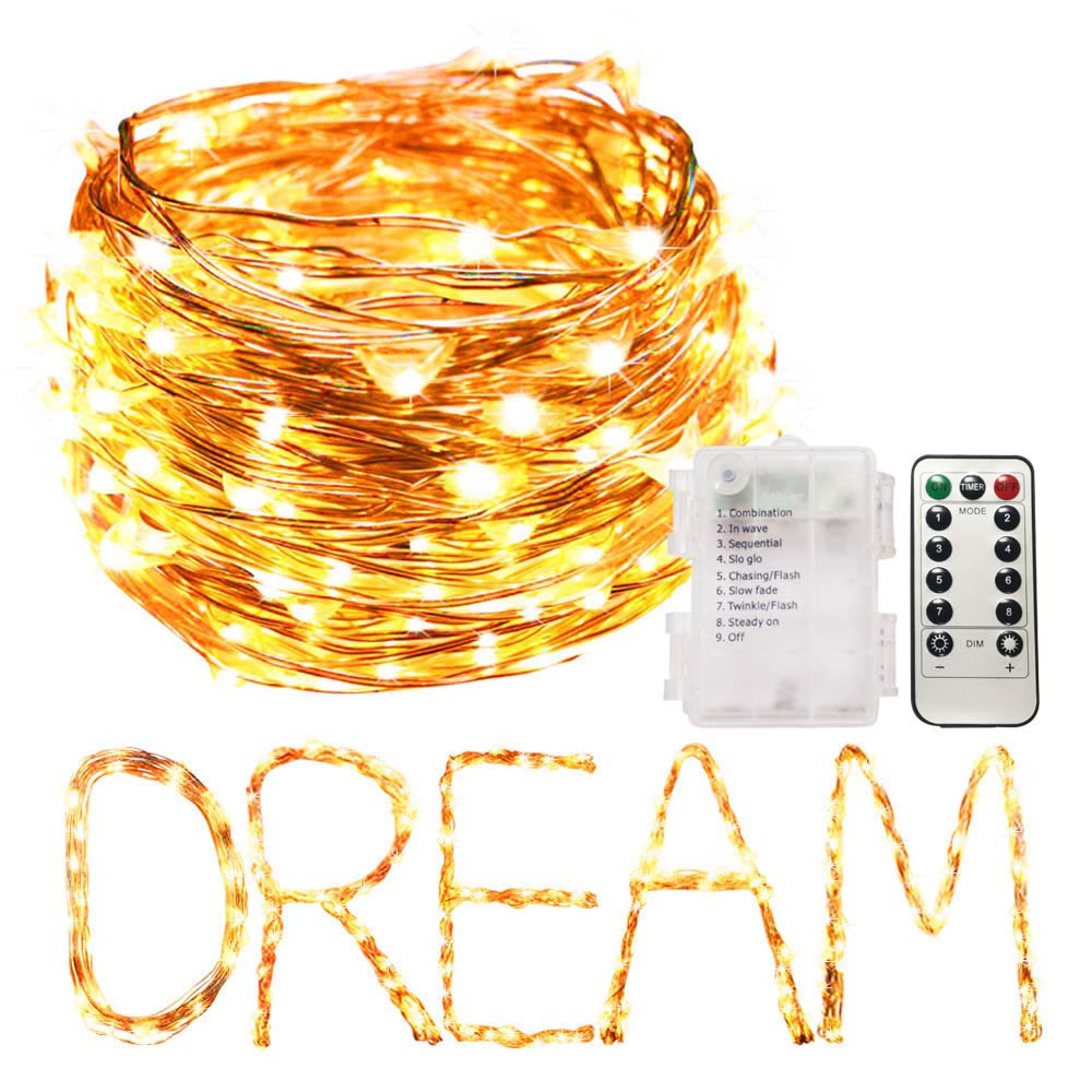 2pcs LED String Light Fairy light Battery LED Garland Waterproof Christmas Halloween USB Decoration lights 1/2/3/5/10M