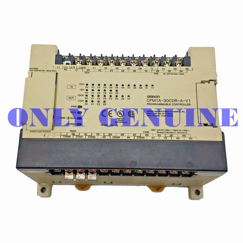 Бесплатная доставка товаров Omron PLC контроллер CPM1A серии модель CPM1A 30CDR A V1