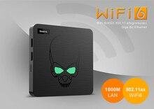 Beelink-decodificador de señal gt-king, reproductor multimedia 4G, 64G, WIFI6, Android 9,0