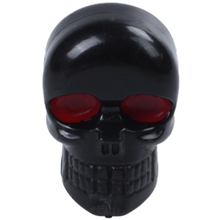 10x Motorcycle Tag Fastener Skull License Plate Frame Bolts Screws Black Red Eye