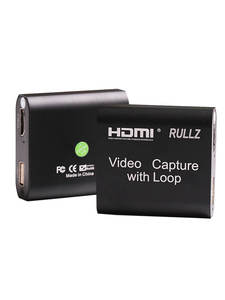 Video-Capture-Card Board-Game Record Broadcast Loop-Out Local Live-Streaming HDMI 1080p 4k
