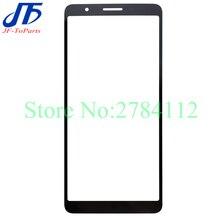 10Pcs מגע פנל החלפה עבור Samsung Galaxy עבור A01 Core A013 SM   A013F / DS קדמי חיצוני זכוכית עדשת רבד OCA