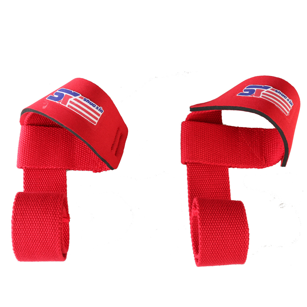 Shuo Xin Sports Weightlifting Webbing Wrist Protector Sx311 Red One Pair Of Dress