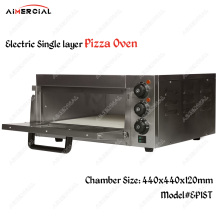 EP1ST/EP2ST Electric Pizza Oven 2KW/3KW Commercial Baking oven Single/Double layer Pizza Baking machine Bakery oven with Timer T