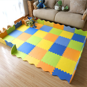 1.4cm Folding Baby Mats Jigsaw Puzzle Fence Infant Child Crawl  Game Blanket Thick Joint Foam Floor Pad Climbing Mat for A Child