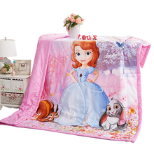 Cotton Quilt Blanket Disney Stroller Sleep-Cover Nap Thicken Warm Infant Baby Kids Cartoon