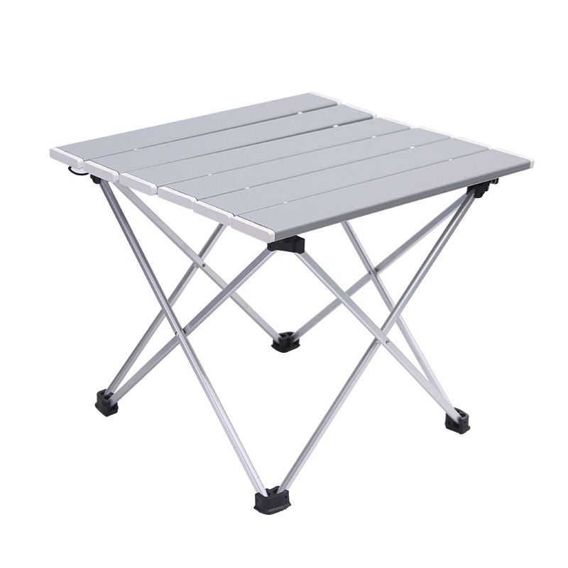 Outdoor Aluminum Folding Table Camping Portable Barbecue Table Portable Multi-function Ultra Light Mini Picnic Table
