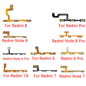 For Xiaomi Redmi 8 7 6 Pro 7A Note 6 7 8 Pro Power Volume Button Switch On Off Button Flex Cable