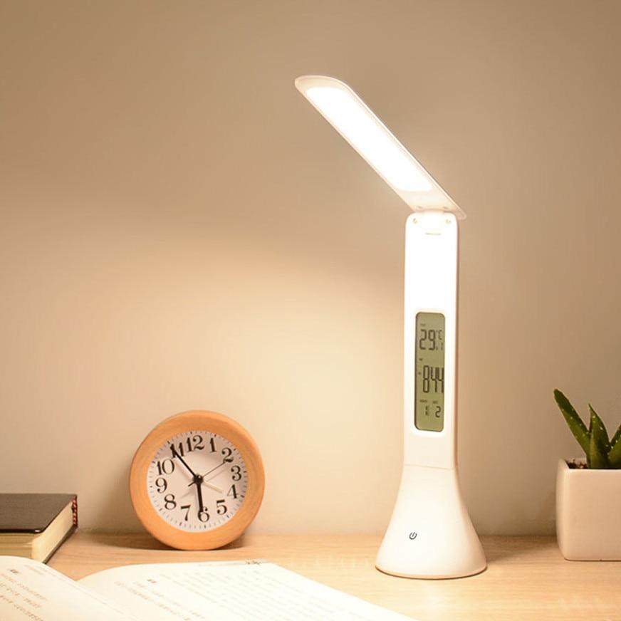 Led Digital Table Lamp Built In