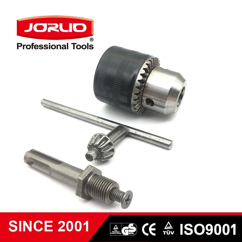 Key type Drill Chuck 1.5 - 13mm Range SDS Round Shank Adapter Electric Hammer Converter
