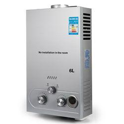 6L LPG hot water storage gas water heater propane gas water heater boiler