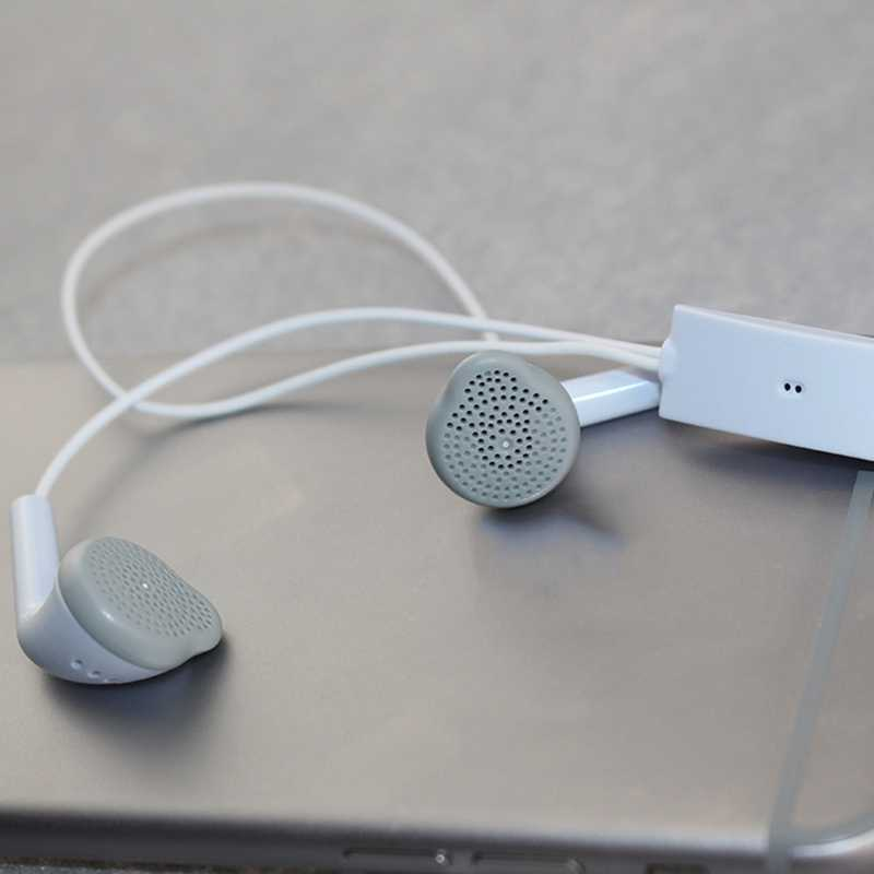 Auricular Casual blanco en auriculares Auriculares auriculares con micrófono con cable para Samsung Galaxy S2 S3 S4 S5 Note 2 3 4 I9300 N900