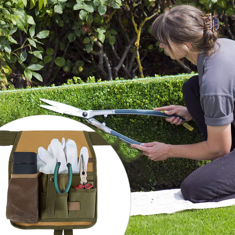 Multifunctional Tool Bag Garden Hardware Tools Packaging 600D Oxford Plumber Repair Belt Bag Woodworking Tool Pouch Kit Bag