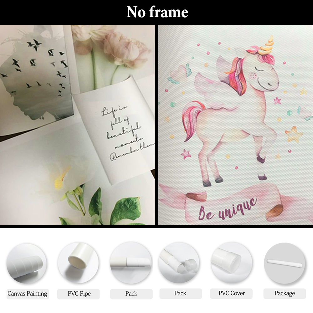 Allenjoy Custom Personalized Painting Photos Pictures Animation Prints Poster Canvas Modern Home Decor Wall Art for Living Room in Painting Calligraphy from Home Garden
