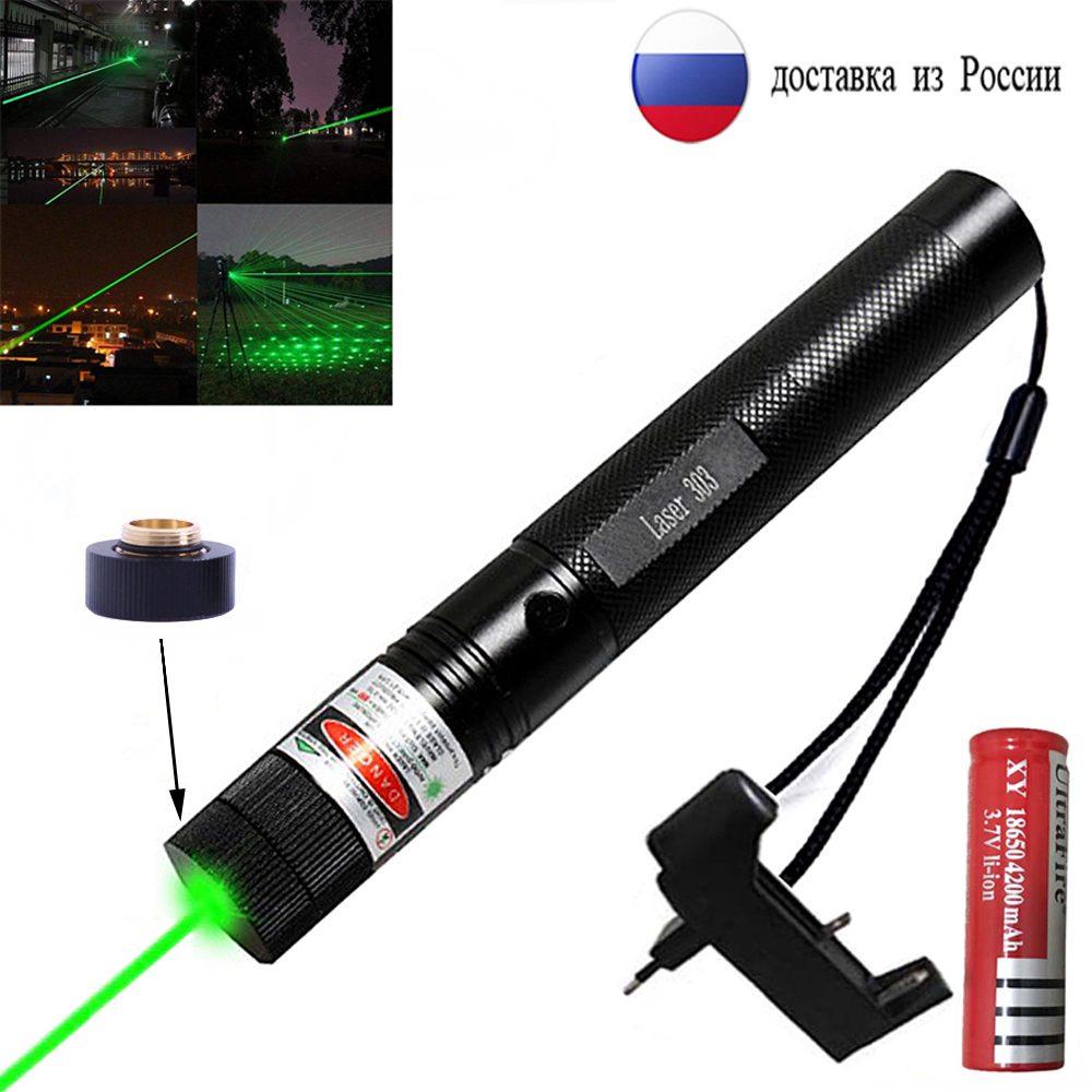 Green Lasers pointer Laser Sight hight Powerful 1000m 532nm 5mw device Adjustable Focus Lazer laser pen Head Burning Match|Lasers| |  - title=