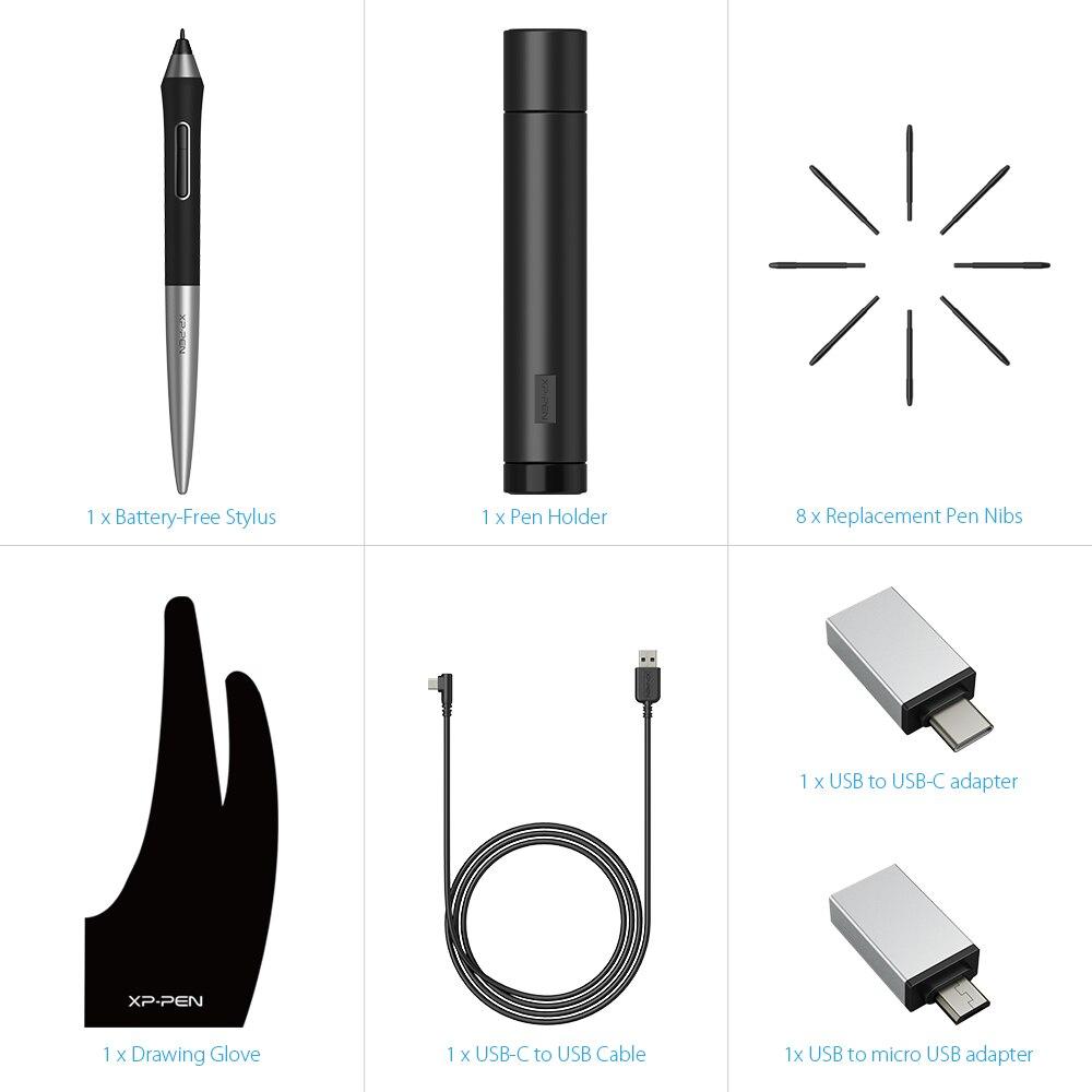XP Stift Deco Pro M Medium Zeichnung Tablet Grafiken Tablet Animation Reißbrett Mit Tilt 8192 druck Kunst für kinder - 6