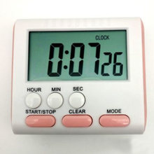 Magnet LCD Count Up Digital Electro Clock 24 Hours Kitchen Timer With Alarm Down(China)