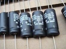 10PCS NUOVO EPCOS B43698 500V 10UF 550V 10UF 14X30MM B43698S6106Q scatola Originale assiale Filtrata Disaccoppiamento Condensatore Elettrolitico