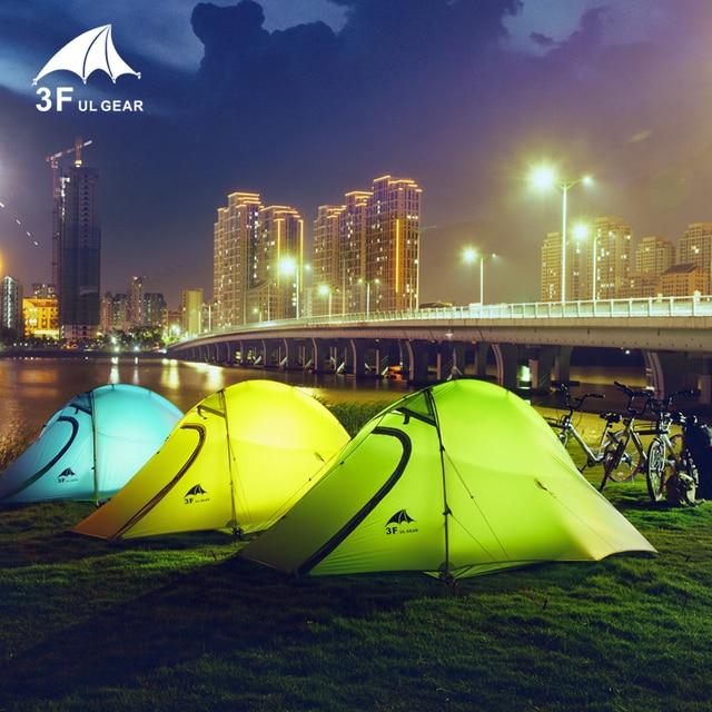 3F UL GEAR 15D Tent 2 Persons Ultralight Double Layer Waterproof 5000mm  6