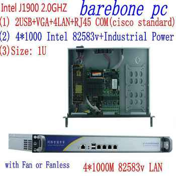1U j1900 firewall router pfsense router server / firewall server with J1900 2.0GHz 4*82583V 1000mbps Lans 4 lan - DISCOUNT ITEM  8 OFF Computer & Office