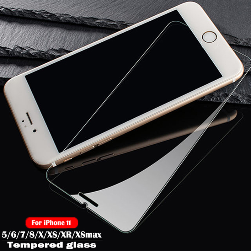 Protective Tempered Glass For Iphone 7 6s  8 X 11 Pro  Screen Protector Glass Protective Film For IPhone 6 7 8 Plus XS Max XR