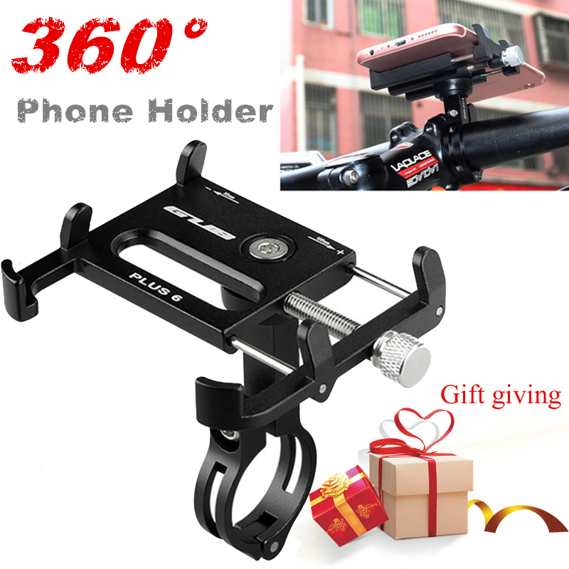 Rotatable Multiangle Bike Bicycle Phone Holder Motorcycle Cellphone Holder For IPhone In Bike Handlebar Mount Phone Stand Holder