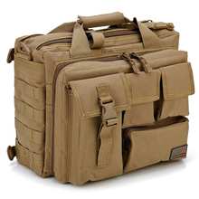 цена на Tactical Waterproof Oxford Outdoor Hiking Messenger Bags Multifunction Military Tactical Shoulder Bag Army Fan Laptop Handbags