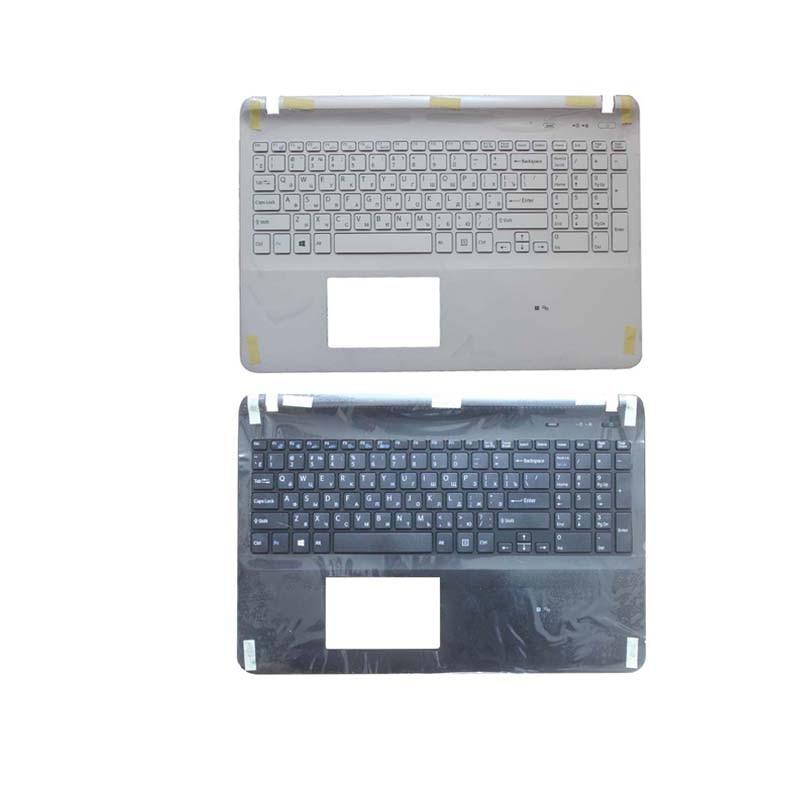 Russian Laptop keyboard FOR SONY VAIO SVF152C29U SVF152C29W SVF152C29X SVF152A29L SVF152C29L RU with palmrest Upper