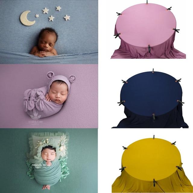 150*170cm yenidoğan fotoğraf sahne battaniye bebek battaniye zemin kumaşlar çekimi Studio aksesuarları