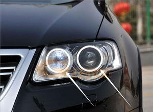 Image 3 - RF remote Bluetooth APP Multi Color RGB led angel eyes kit For Volkswagen VW Passat B6 Magotan 2005 2010 Xenon Headlight