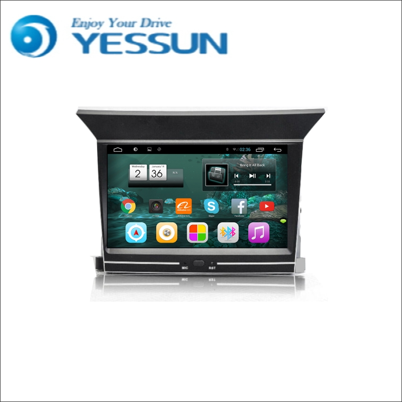 YESSUN <font><b>For</b></font> <font><b>Honda</b></font> <font><b>Pilot</b></font> 2009~2015 Android Car <font><b>GPS</b></font> Navigation DVD player Multimedia Audio Video Radio Multi-Touch Screen image