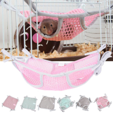 Hamster Nest Hamster Bed Hamster House Breathable Pet Small Animals Hanging Sleeping Bag Hammock Hamster Toys D40 1pc hamster hanging house hammock cage sleeping nest pet bed rat hamster toys cage swing pet banana design small animals