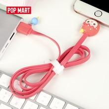 Mexico city'den POPMART Pucky kör kutu serisi için USB kabloları Apple cihazı rastgele kutusu hediye aksiyon figürü doğum günü hediyesi çocuk oyuncak ücretsiz kargo
