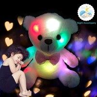 Permalink to Lighting Cushion Glowing Plush Toy Colorful Glowing Bear Cute Gift Popular Toys Dolls Colourful LED Shining Stuffed