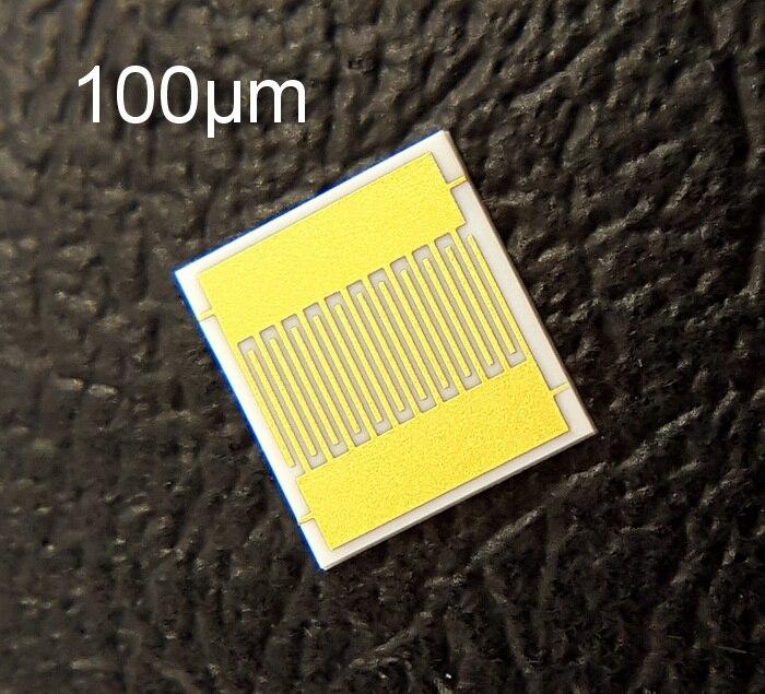 Interdigital Electrode IDE Biogas Humidity Sensor DPC Film Capacitor Array