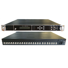 tuner receiver and modulator, RF (DVB-S2 / C / T / ISDB / ATSC to RF (ISDB / ATSC / DVB-T / C / DTMB) TV system equipment