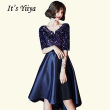 Коктейльные платья темно синего цвета it's yiiya br475 коктейльное