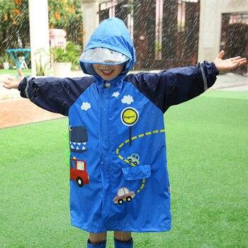Children Waterproof Raincoat Jacket Pants Set Bicicle Stylish Raincoat Set Cycling Kids Chubasquero Hombre Travel Coat OO50YY