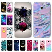 Silicone Cover Cases For Samsung Galaxy A3 2017 Case Cartoon Soft TPU Phone Case For Samsung A3 A 3 2017 A320 A320F Back Cover